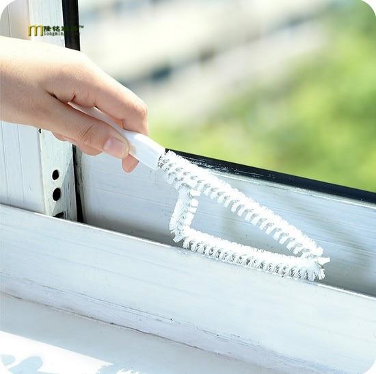 1 unid Windows receso ranura grieta cepillo de limpieza cepillo de limpieza estu