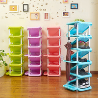 Household multi layer storage rack simple shoe cabinet simple modern multi functional assembly shoe rack XI321707