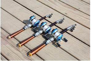 Image 4 - hard short carbon fiber telescopic fishing rod ultralight spinning rod for seafishing boat rock stick pesca pole for bass carp