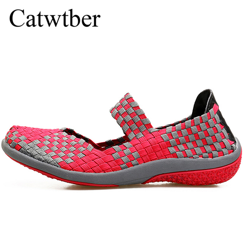 Catwtber Quality Women Casual Shoes Summer Breathable Handmade Women Woven Shoes Fashion Comfortable Lightweight Wovening Women кормушка triol p510 автопоилка для животных регулировка высоты page 5