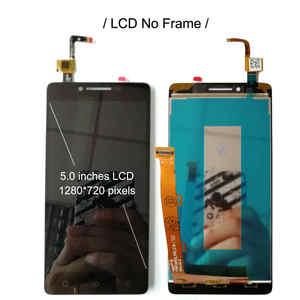 """Image 3 - 5.0 """"LCD עם מסגרת עבור Lenovo A6010 6010 מלא LCD תצוגת מסך מגע חיישן Digitizer עצרת החלפת A6010 תצוגה"""