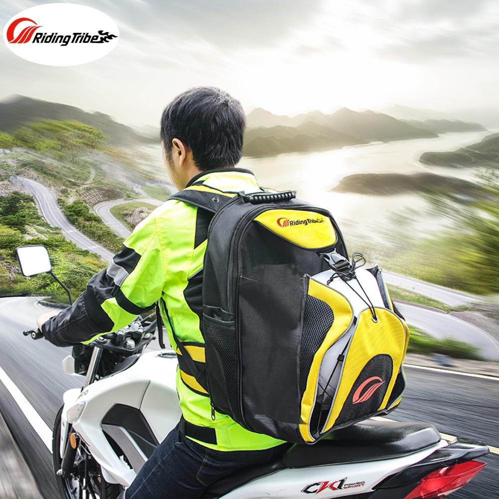 цена на Riding Tribe Motorcycle Helmet Bag Waterproof Moto Backpacks Motorcross Traveling Large Capacity knapsack Sports Bag G-XZ-012