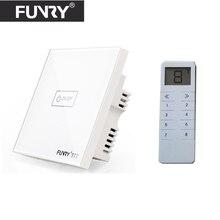 Funry UK Wireless 3 Gang RF433 font b Light b font Switch font b Smart b