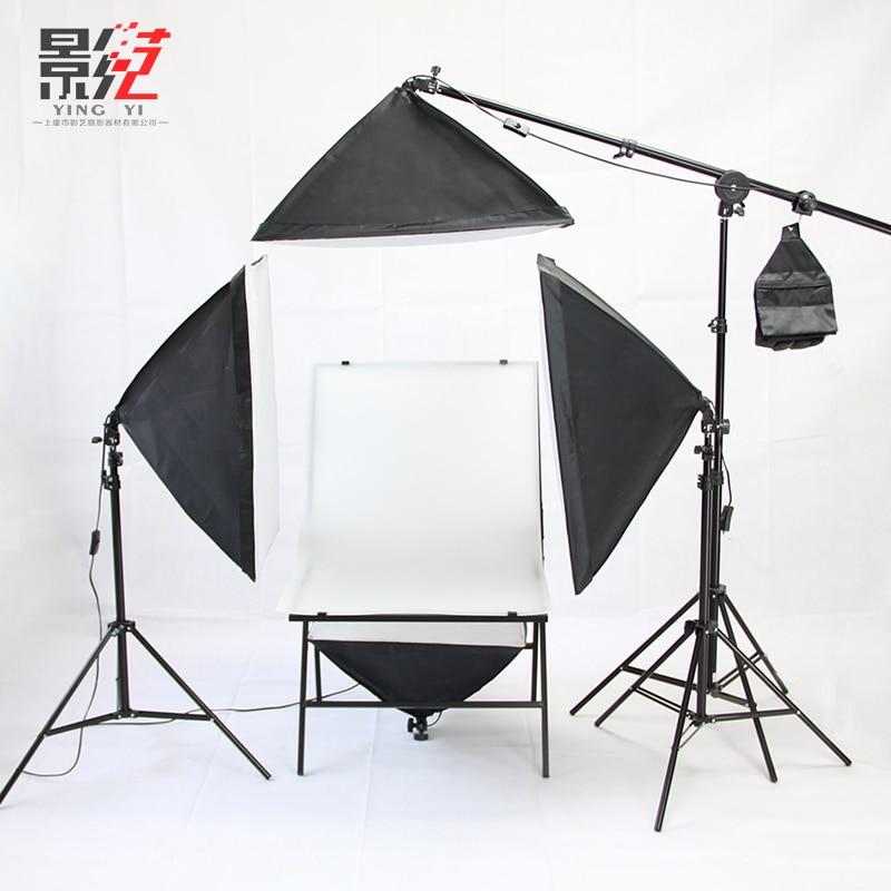 Professional photographic equipment still life shoot four sets of studio light kit softbox photography Video Studio Kit  CD50