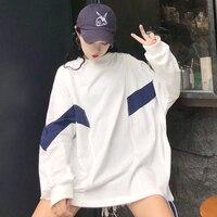 VANOVICH модные толстовки с капюшоном в стиле пэчворк женские пуловер с длинным рукавом свитер с капюшоном топы 2018 осень