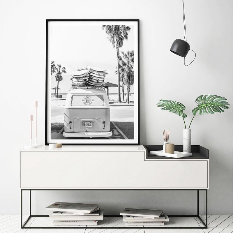 Beach Photography Surf  Canvas Poster Home Decor
