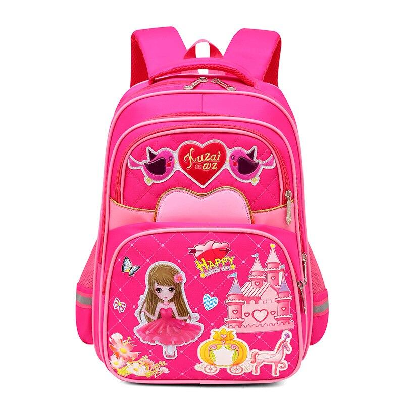 2018 children princess school backpack School Bags for Girls kids Satchel Bag Printing school Backpack kids schoolbags mochila