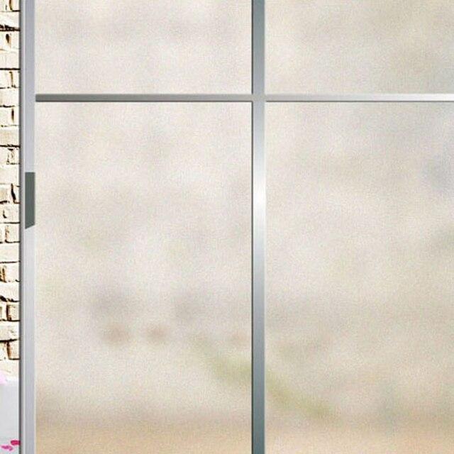 60x200 CM/40x200 CM Frosted Raamsticker PVC zelfklevende Glas Film ...