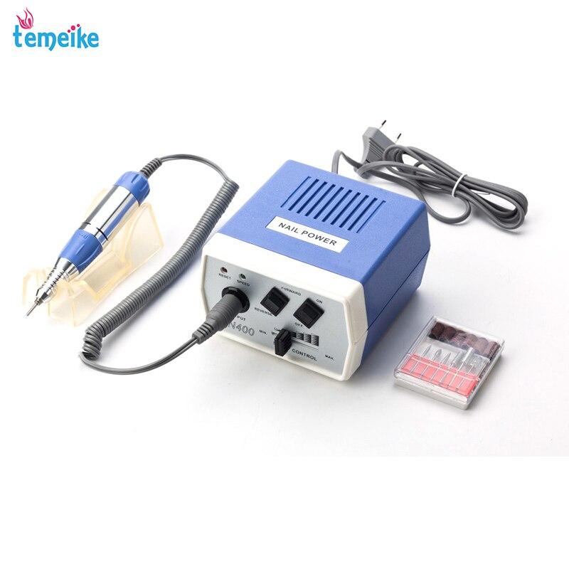 35 W EN400 Pro clavo eléctrico máquina de perforación de Arte de uñas de manicura pedicura archivos eléctrico manicura taladro y accesorio