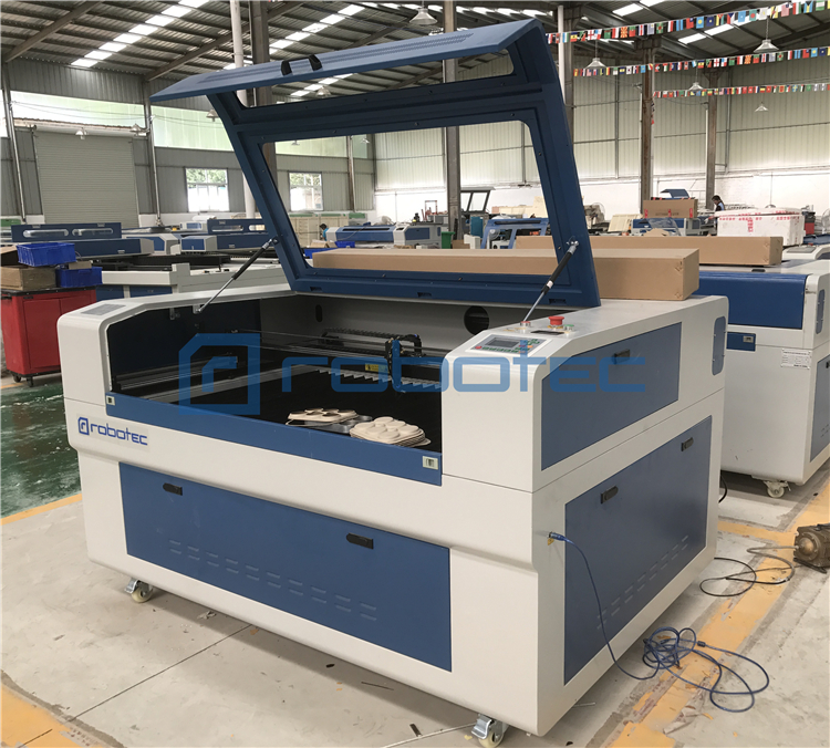 China ROBOTEC RTJ-1390 Laser Cutting Machine/100w Laser Machine For Cutting And Engraving Acrylic