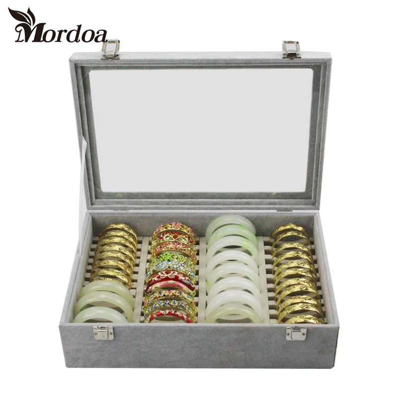 Bracelet Display Tray Bracelet Organizer Boxes Receive a Box Jewelry Box Display Shelf Packaging Items Bangle Frame Rack Cases скатерть les gobelins feuilles beiges круглая диаметр 160 см