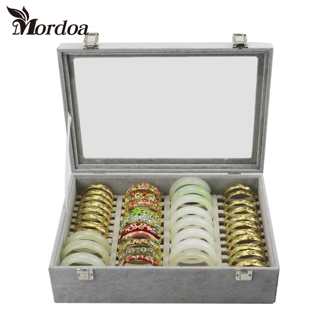 Bracelet Display Tray Organizer Bo Receive A Box Jewelry Shelf Packaging Items Bangle