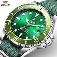 Teviseブランドファッション高級レロジオ男性の腕時計腕時計自動自己風時計男性ビジネス防水機械式時計 -