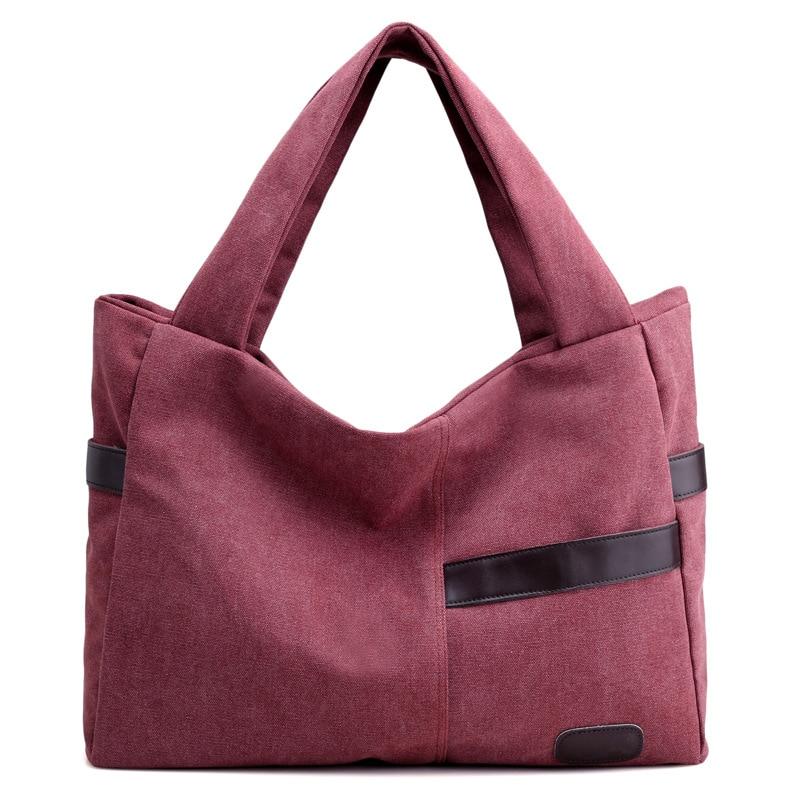High Quality Hot Sale Canvas Women's Handbags Shoulder Bags Ladies Patchwork Bag Fashion Women Tote Bag Bolsas Feminina