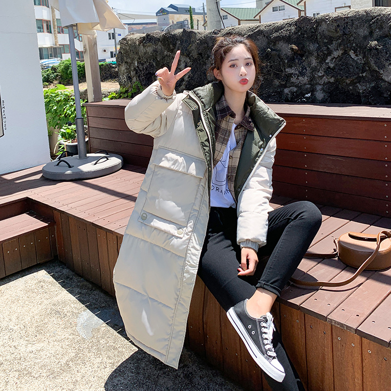 2019 Coat Jacket Winter Women's Hooded Warm   Parkas   Hight Quality Female   Parka   Coat New Winter Collection Hot