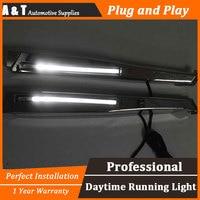 car styling For Jaguar XF LED DRL For XF led fog lamps daytime running light High brightness guide LED DRL
