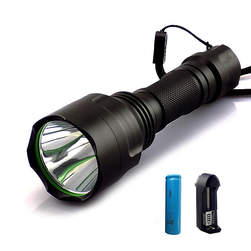 T6 мощный светодиодный фонарик вспышки Torch Light 2000lm linternas recargable Lanterna  ...