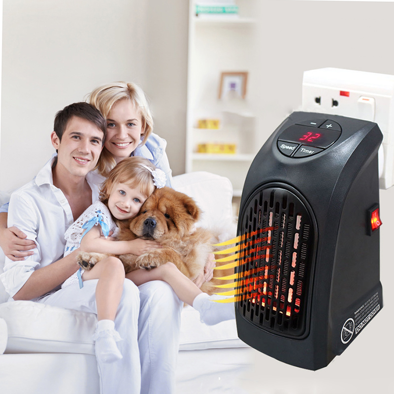 Electric Handy Heater Fan Wall Portable Room Heater Stove