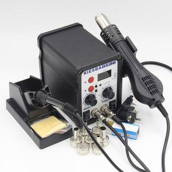 RIESBA 8586 700W ESD Soldering Station LED Digital Solder Iron