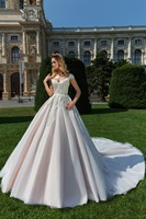 2019 Eslieb wedding gown ball gown sweetheart tulle bridal dress with lace zipper pearl crystal sleeveless suknia slubna HA084