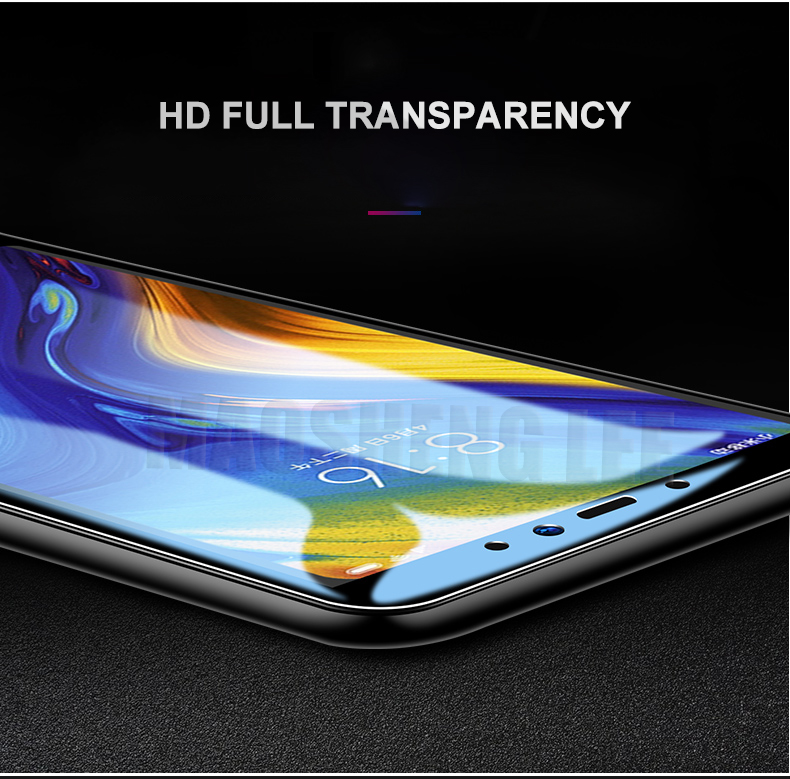 Image 5 - New 9D Tempered Glass For Xiaomi Mi Max 3 2 Full Cover Screen Protector tempered glass For Xiaomi Mi Max 2 Glass Protective Film-in Phone Screen Protectors from Cellphones & Telecommunications