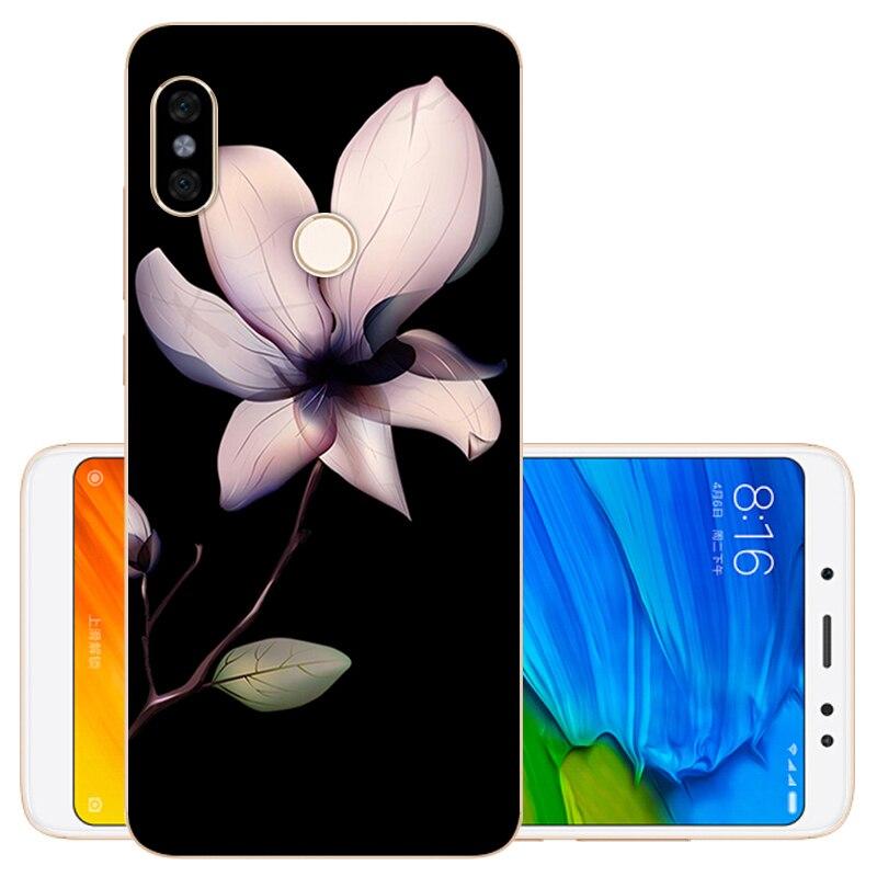 64GB Redmi Note 5 Pro Case Soft TPU Silicone Cover Xiaomi Redmi Note 5 Case Coque Xiaomi Redmi Note 5 Pro Phone Bag