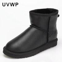 топ мода 2017 для женщин натуральный зимние ботинки с лисьим мехом 100% из натуральной коровьей кожи зимние сапоги женские зимние сапоги для женщин сапоги и ботинки для девочек