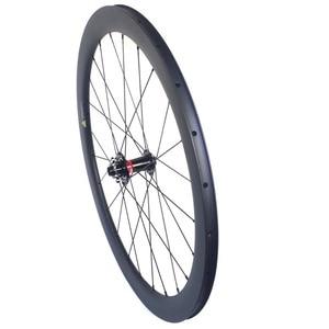 Image 4 - Disc brake carbon road wheels carbon bike wheelset 35mm 38mm 50mm 60mm clincher tubular tubeless wheels