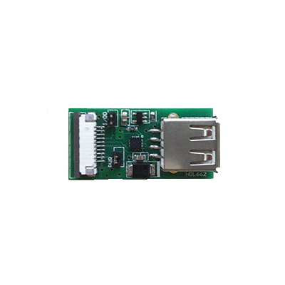 Adapter Board HDL662B Single USB To 10Pin_1.0 FCC Interface