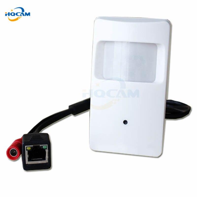 Hqcam 720 P pir детектор движения мини Камера ONVIF PIR Стиль IP Камера тайное ПИР IP Камера для 1.0 мегапикселя поддержка P2P Mobile