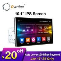 Ownice C500 2Din 10.1 inç HD android 6.0 octa çekirdek Evrensel araba radyo stereo DVD Oynatıcı GPS Navigasyon TPMS DAB 4G LTE Carplay