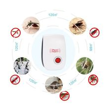 2PCS/LOT Multi-Purpose Electronic Ultrasonic Mosquito Killer Reject Bug Mosquito Cockroach Mouse Killer Repeller from Russia