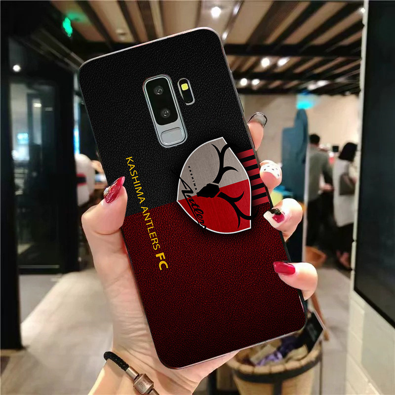Yinuoda Phone Case For Kashima Antlers FC For Samsung Galaxy Shell S10 S9 8 Plus S6 S7 Edge Cover Black Soft TPU For S9 S10 Lite in Half wrapped Cases from Cellphones Telecommunications