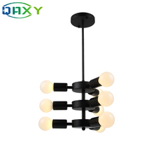 2019 New Arrival E27 Black 1 Layer/2 Layers/3 Layers Pendant Lamp Vintage Lights For Parlor Living Room Dining Bedroom
