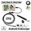 7mm Android USB Endoscope Camera 1M 1 5M 2M 3 5M 5M Flexible Snake Camera USB