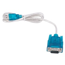 New CH340 USB to RS232 COM Port Serial PDA 9 pin DB9 Cable Adapter Support Windows7 Wholesale Drop Shipping цена и фото