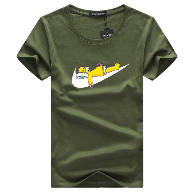 Wholesale new Simpson black hip hop street men's T-shirt fashion brand clothing summer cotton T-shirt men's oversized design 5xl