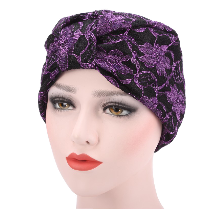 New Style Soft Chemo Cap Turban Hat Solid Muslim Cancer Hair Loss Caps Beanies Headwear