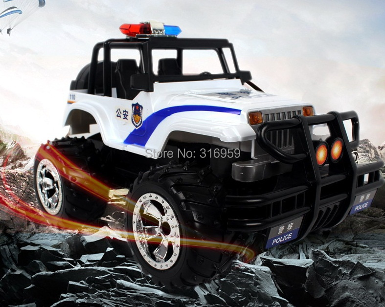 RC Car Jeep Wrangler  1:14 Brand cross-country Car with alarm light  Remote Control Racing Car Model Electronic Toy  children car model toy sandy land truck with light remote control dirt bike 9301 1 rc car 1 18 2 4g 2wdelectric racing car