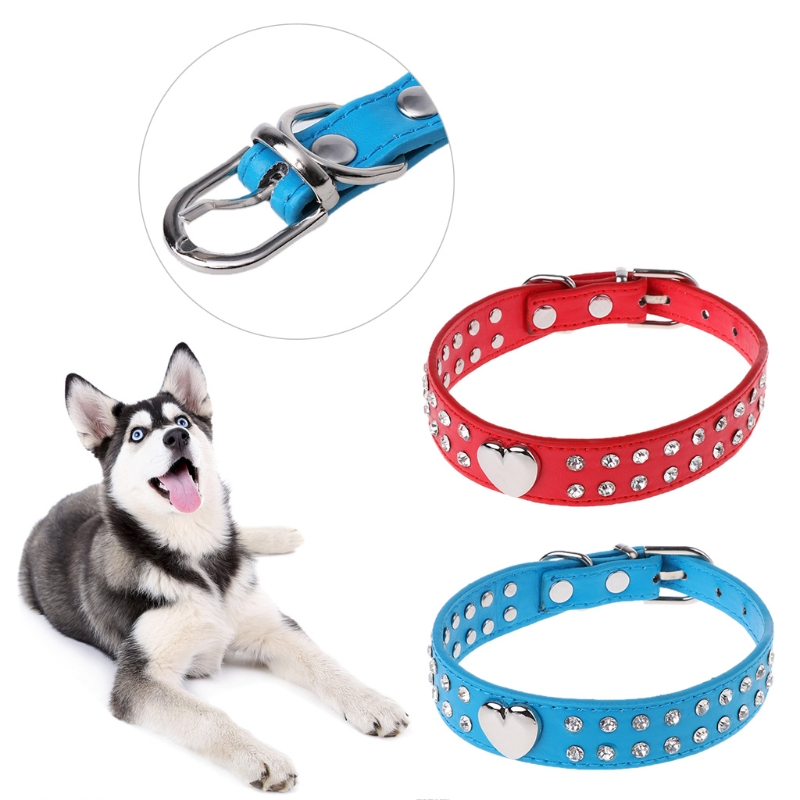 2018 Bling Pet Collar Puppy Dog Cat Necklace Pet Adjustable Collar Dog Accessories new