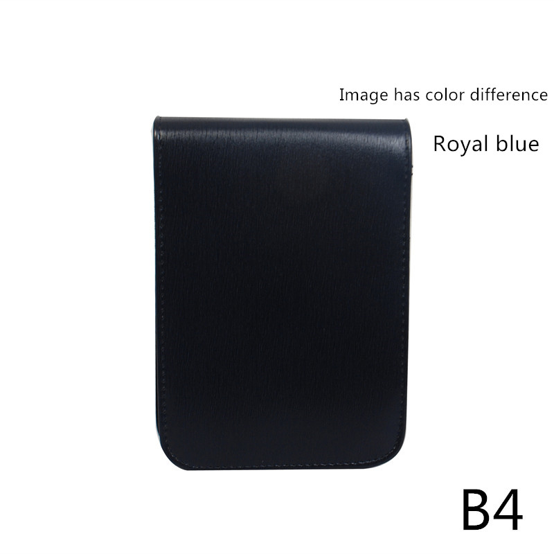Quality Fountain Pen / Rollerball Pen Bag Pencil Case Available For 12 Pens - Black Leather Pen Holder / Pouch