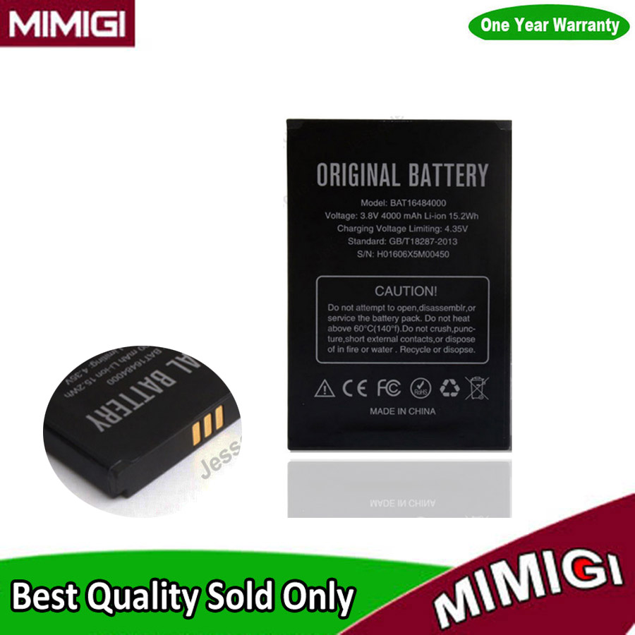 Genuine 54.4g 4000mAh Battery For Doogee X5 Max X5max Batterie Batterij Batterija Batterije AKKU AKU