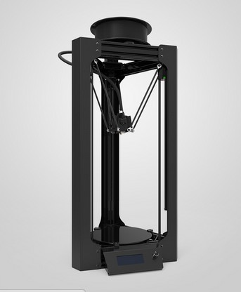 Le plus nouveau Micromake 3D imprimante cadre froid-rouleau en acier feuilles kit de bricolage Kossel Delta nivellement automatique grande taille d'impression 3D imprimante en métal