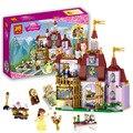 37001 Princesa Belle Princesa del Castillo Encantado Amigas Niños Modelo Building Blocks Juguetes Figuras Compatible con Legoe