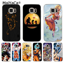 MaiYaCa Anime Dragon Ball Saiyan Goku Vegetto Gohan telefoon Back Phone Case voor samsung galaxy s7 s6 edge plus s5 s9 s8 plus case(China)