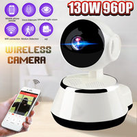 960P IP Camera Home Security Wi Fi Wireless Mini Network Camera Surveillance Smart Infrared Night Vision Camera Baby Monitor