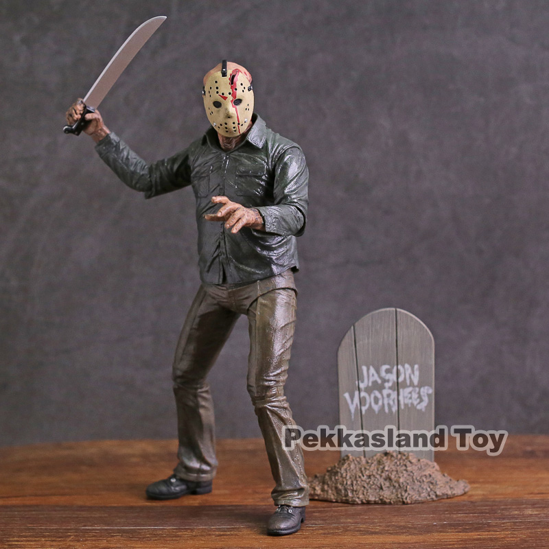 NECA Friday The 13th PartV Part5 A New Beginning Jason Voorhees Action Figure Toy NECA Friday The 13th PartV Part5 A New Beginning Jason Voorhees Action Figure Toy
