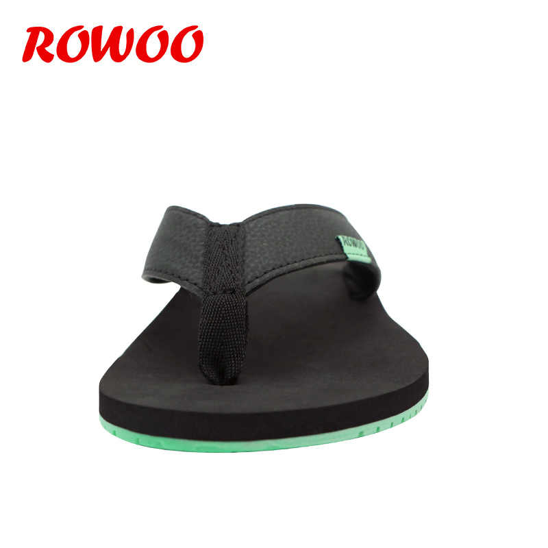58a447c38 ... Mens Flip Flops For Men Leather Slippers Flat Home Shoes Sandals  Slipper Male Sandalias Mujer Sandals ...