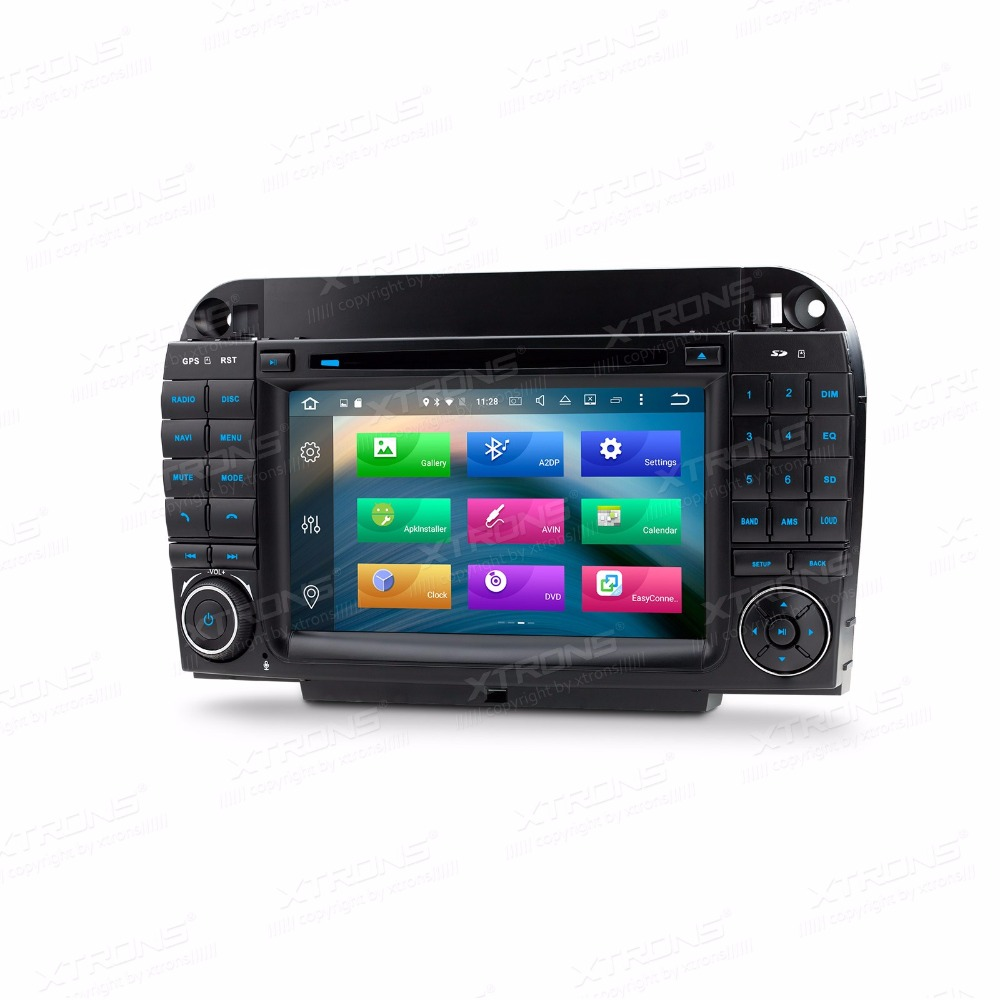 Autoradio 2 Din 7″Octa Core Android 6.0 Car DVD Player for Mercedes-Benz S-Class W220 (S280/S320/S350/S400/S430/S500)1998-2005
