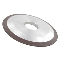 One Tapered Side Plain Resin Diamond Grinding Wheels 125mm X 10mm X 32mm X8mm Abrasive Tools